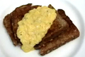 Custard Style Scrambled Eggs